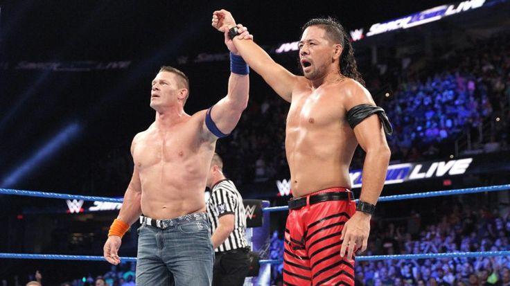 WWE website accidentally revealed the original plans for John Cena vs. Shinsuke Nakamura