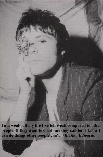 Richey Edwards #quote