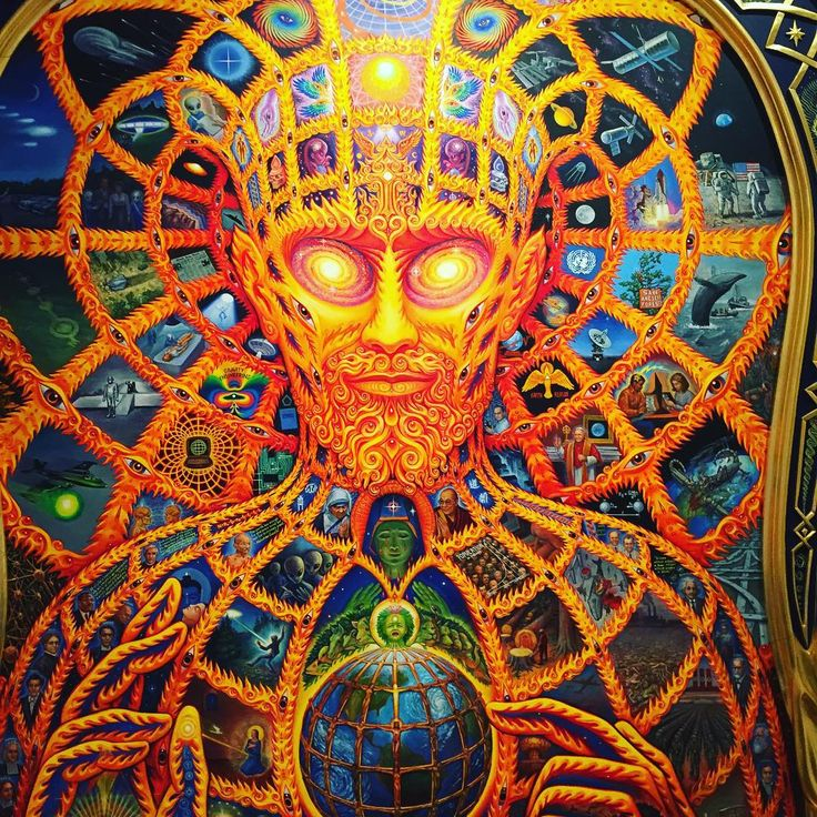 Alex Grey And Biography At The Gorgeo 1