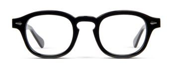 Due Diligence - Round shape frames. Chunky retro classics for your serious side.