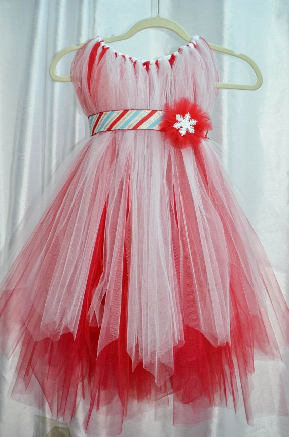 Holiday Party TuTu Dress with matching by RhiannaKellyDesigns