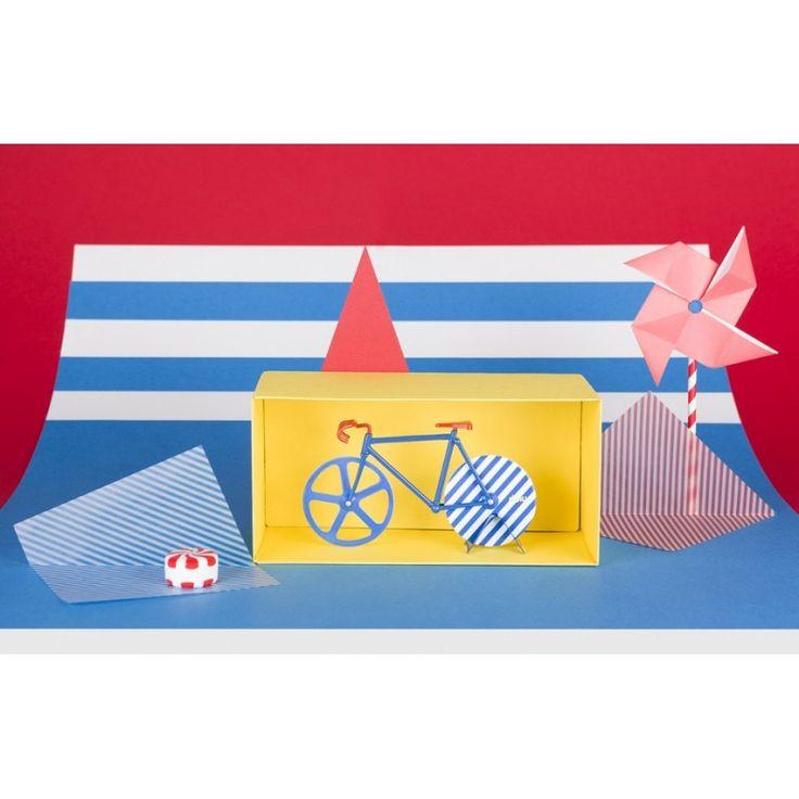Nóż do pizzy Doiy Fixie w kształcie roweru