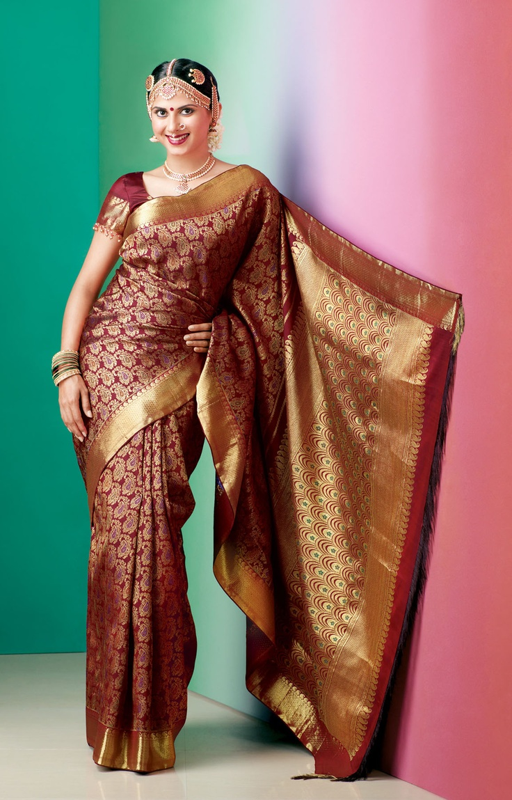This is good. But my muhurtham saree is also going to be red.