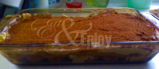 Best tiramisu recipe I've found thus far. No eggs, which is a plus.   *note: you don't need nearly as much coffee as they say  *tip: I suggest you don't dip the lady finger in the coffee...brush the coffee onto the lady fingers once they're laid out the way you want them.   ENJOY!