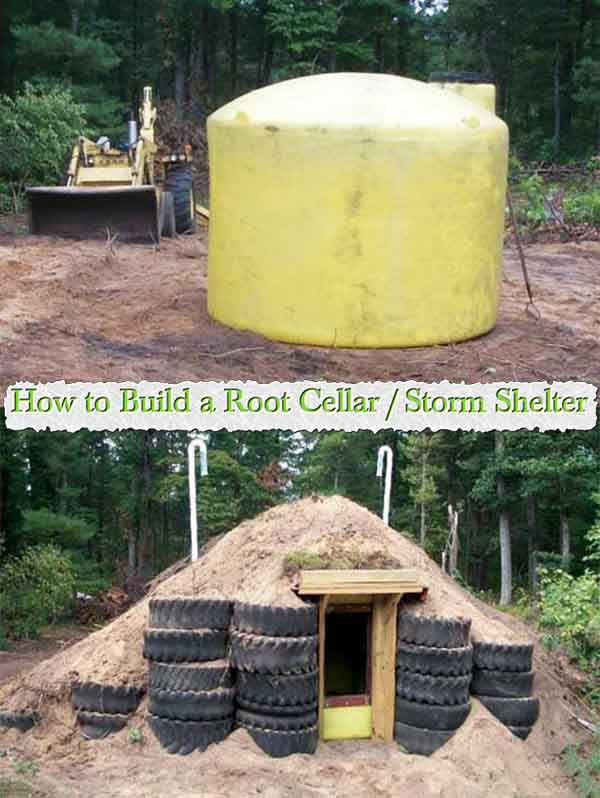 How to Build a Root Cellar / Storm Shelter