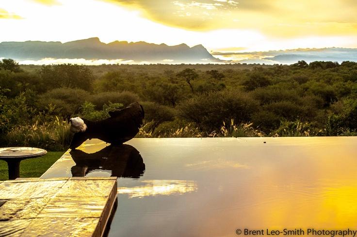 Sunset over Khaya Ndlovu
