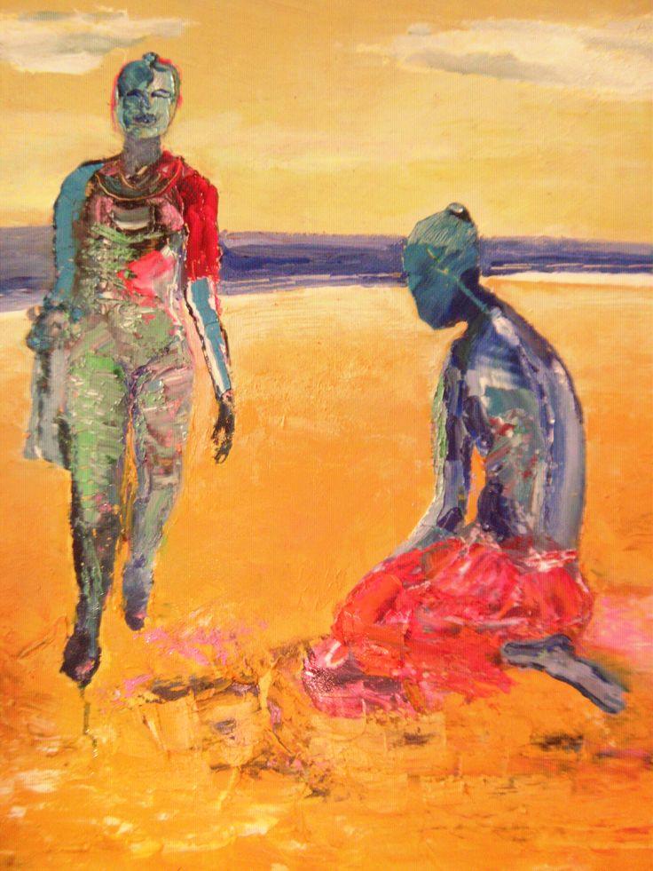 Women of the Yellow shore