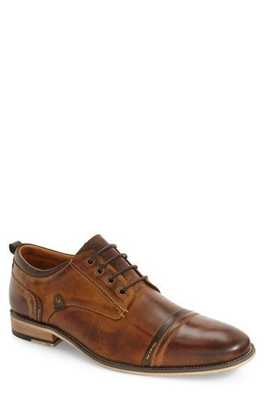 Free shipping and returns on Steve Madden Jamyson Cap Toe Derby (Men) at Nordstrom.com. Lightly weathered leather means vintage charm in a stylish derby built for versatile appeal.