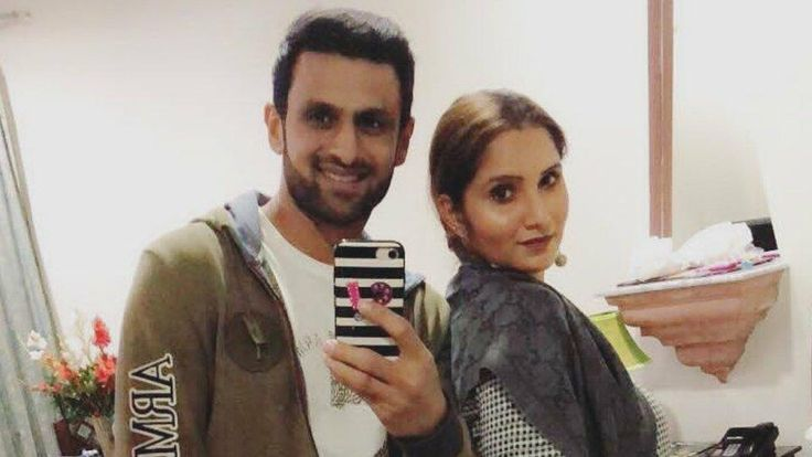 Sania Mirza, who was recently ruled out of the Australian Open tennis tournament due to a knee injury, spent some quality time with husband and Pakistan cricket team member Shoaib Malik in Lahore.  Sania Mirza was recently photographed spending some quality time with husband and Pakistan cricket team member Shoaib Malik in Lahore.