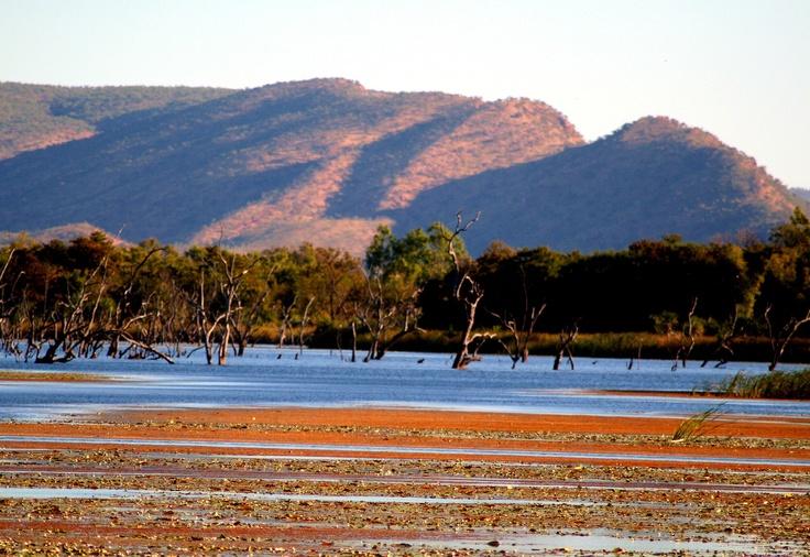 Australia, Kununurra, Lily Creek Lagoon