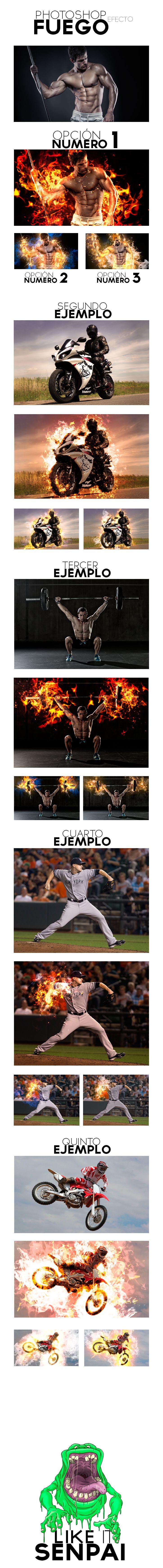 Photoshop efecto Fuego