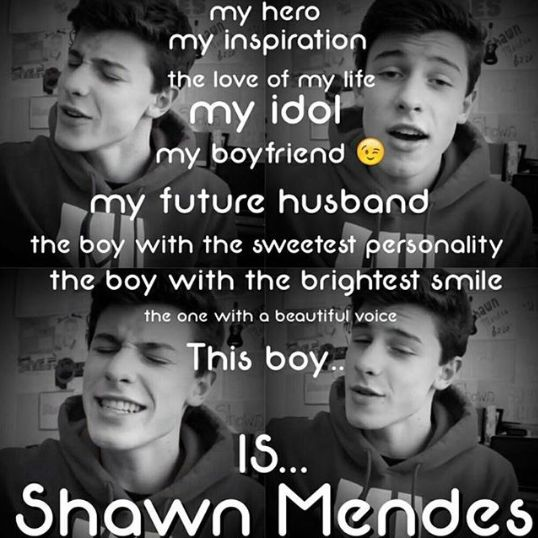 This boy is Shawn Mendes