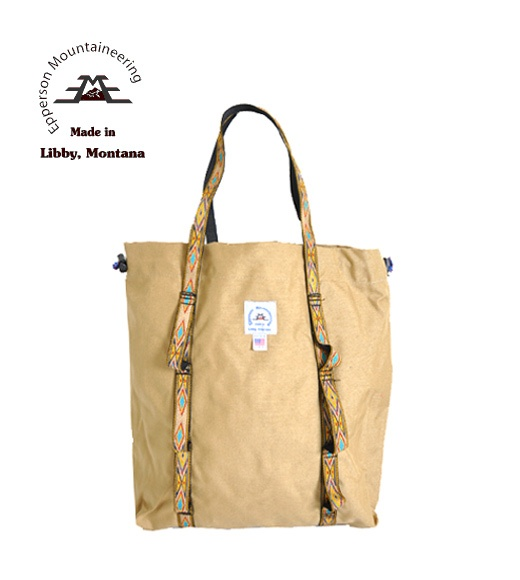 EPPERSON MOUNTAINEERING | CLIMB TOTE | アウトドアファッション総合通販サイト BAMBOO Ville