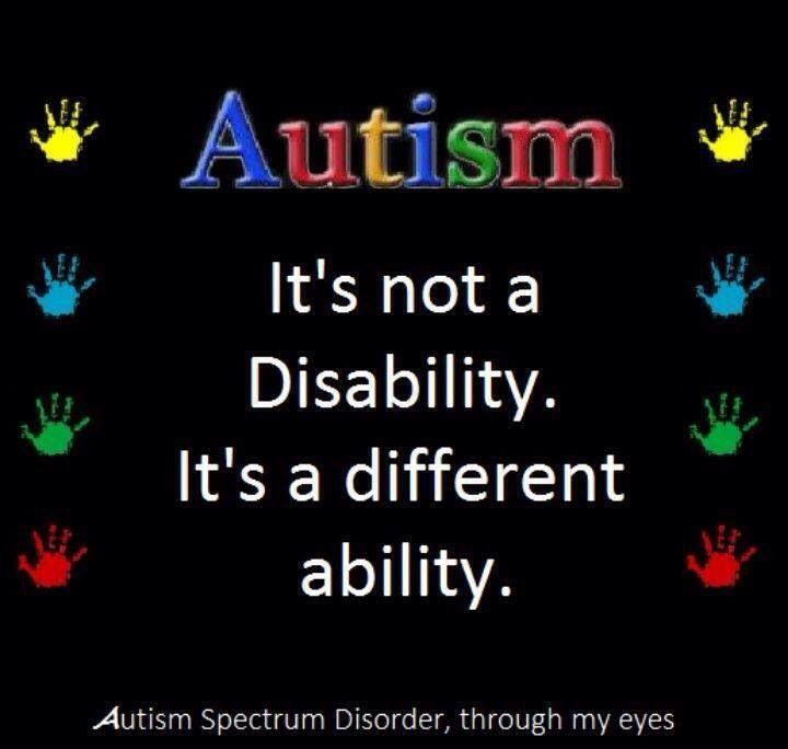 #Autism Awareness                                                                                                                                                      More