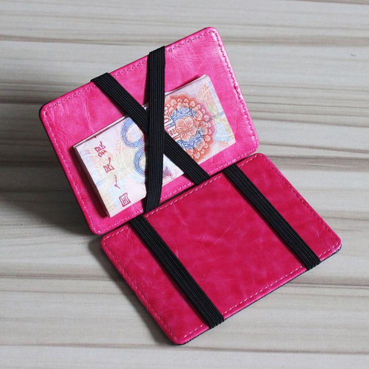 new brand manywe fashion magic wallet men slim wallet