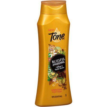 Tone Blissful Awakening Caffeine & Vanilla Blossom Energizing Body Wash 16fl oz