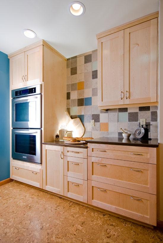 Countertop Height For Baking : ... , Caesarstone countertops, baking area with lowered counter height