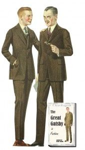 Short jackets, narrow legs for the conservative style 1920s suit  . More 1920s Suit History  http://www.vintagedancer.com/1920s/1920s-mens-fashion-the-suit/