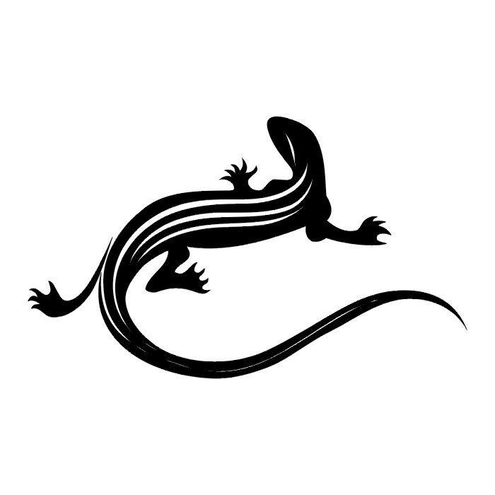 TATTOOS: Lizard Tattoo Stencils