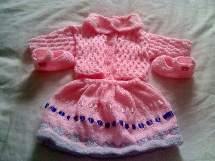 Baby jacket and skirt