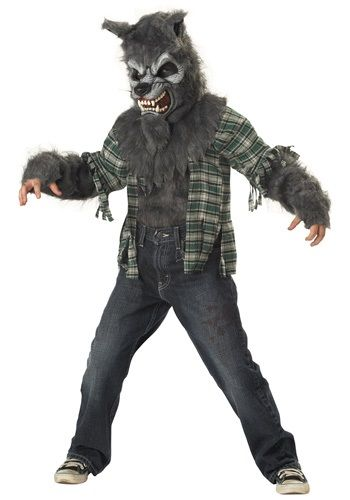 Howl at the moon all night long in this Child Werewolf Costume, and prove that the folk tales are true! Transform from your normal self to a...