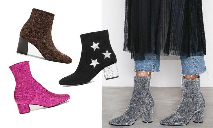 Vårens måste - glittriga skor! 12 bästa köpen