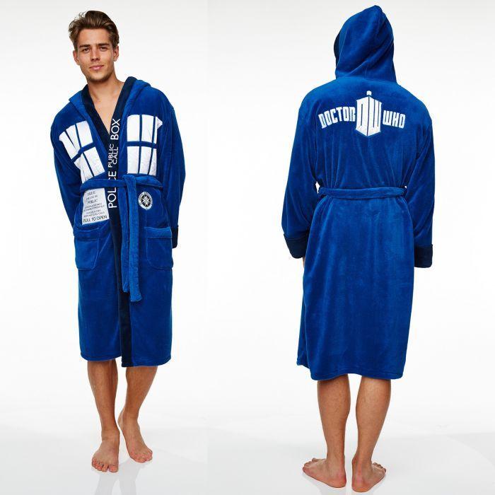 ★NEW : Peignoir Tardis Dr Who ★ ► http://ow.ly/XA9vm  (49.90€)  Dr Qui ?