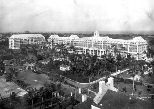 The Royal Poinciana Hotel Palm Beach Florida Once Largest Wooden Structure In