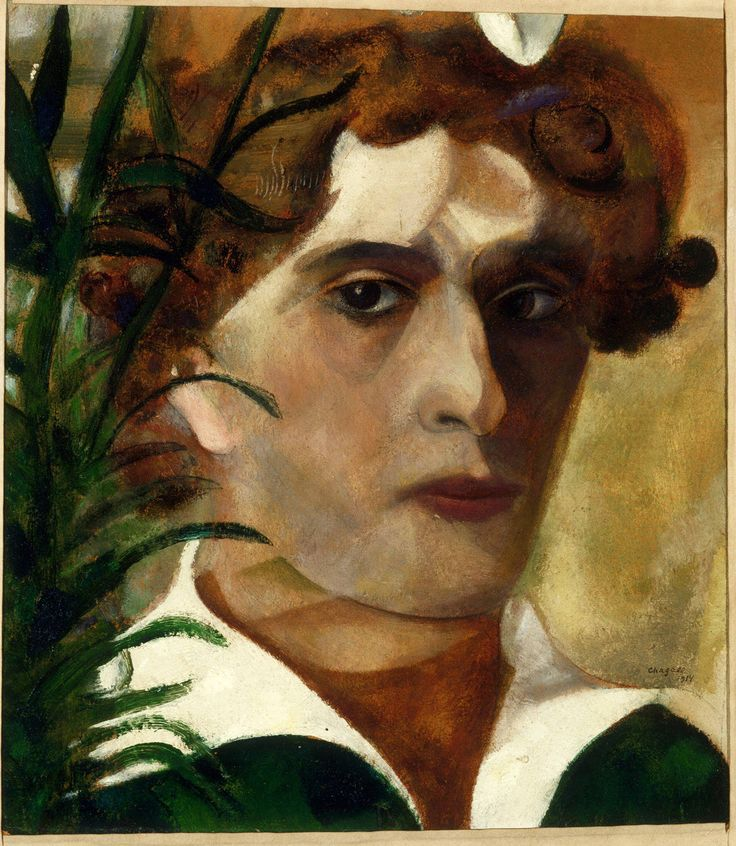Marc Chagall, Self-Portrait, 1914