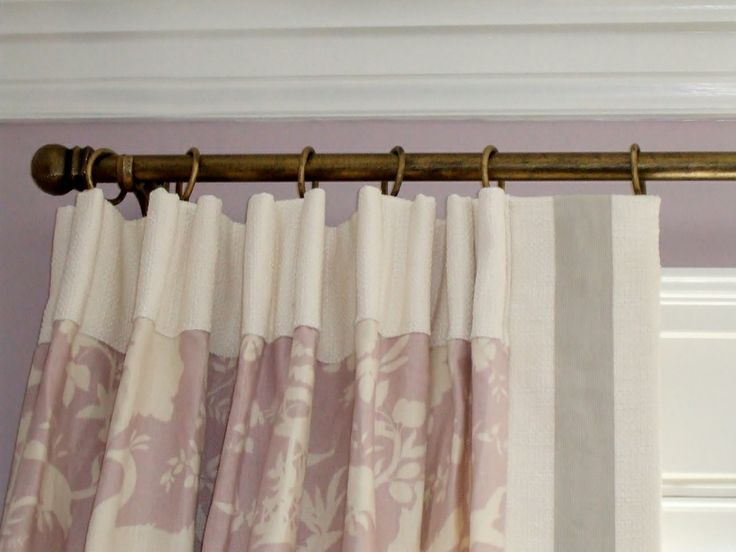 I Created This Double Cartridge Pleat Panel With Contrast