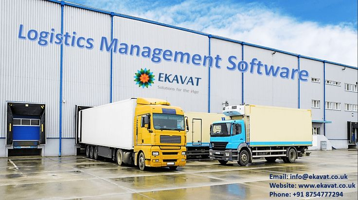 Logistics management software by EKAVAT is a feature-packed transportation management software for freight  management, courier and logistics companies. This is a cloud based freight management software covering the  end to end needs of freight forwarders, vehicle logistics firms, packers and movers, relocation service  providers etc. http://www.ekavat.co.uk/logistics-transportation-management-software