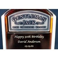 Personalised Jack Daniels Gentleman Jack - Jack Daniels Gifts