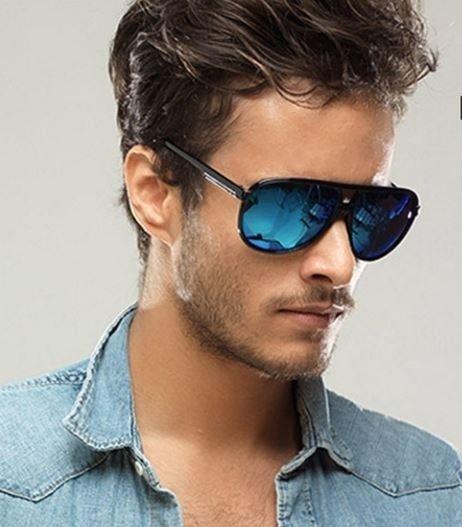 Pánské stylové polarizační modré sluneční brýle Na tento produkt se vztahuje nejen zajímavá sleva, ale také poštovné zdarma! Využij této výhodné nabídky a ušetři na poštovném, stejně jako to udělalo již velké množství spokojených zákazníků …