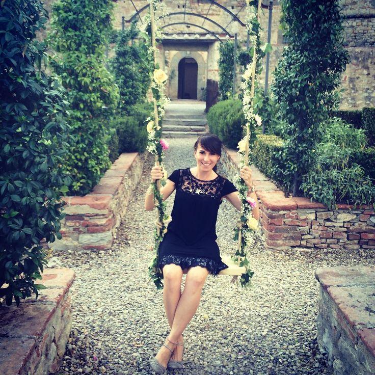 Castello di Meleto, swing