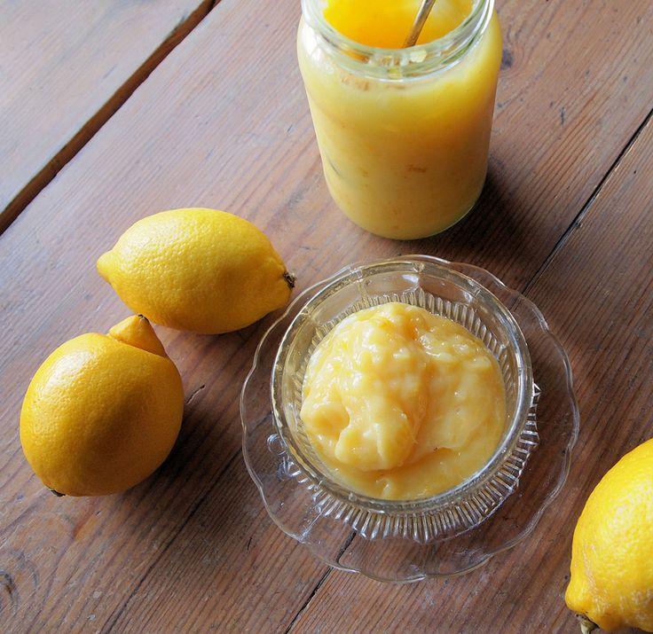 Homemade lemon curd - Culy.nl
