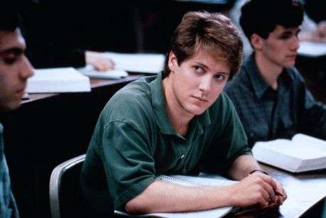 Young James Spader in Green Polo