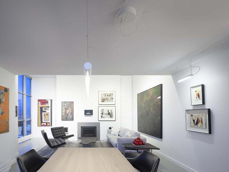 ANDLIGHT -PIPELINE 40 & 125 WHITE - DESIGN CAINE HEINTZMAN @ GALLERY PENTHOUSE RESIDENCE