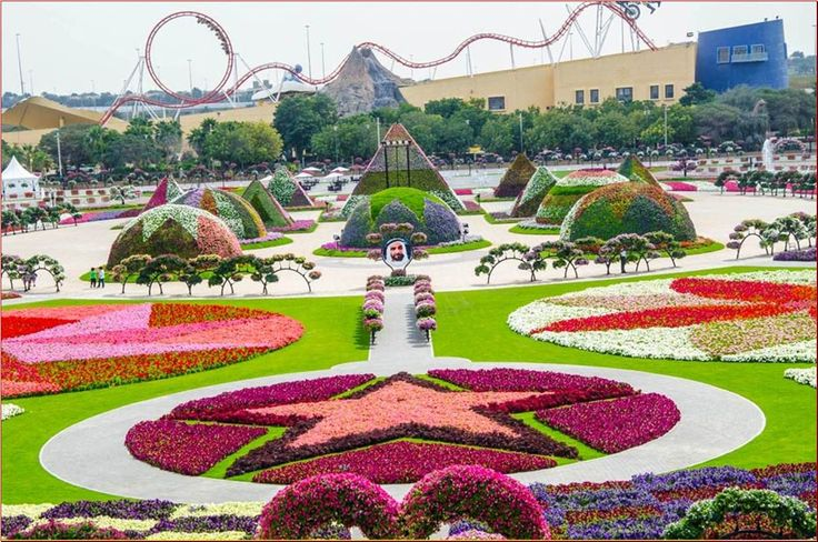 The most beautiful and biggest natural flower garden in the world