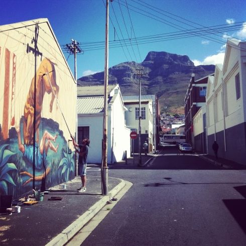 looking around Cape Town