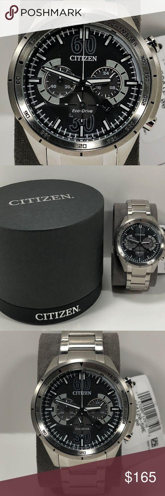 Citizen Eco-Drive Men's Watch CA4120-50E Citizen Eco-Drive Men's Watch CA4120-50E New with tags and original box Item Number CA4120-50E Original retail price $295 Citizen Accessories Watches