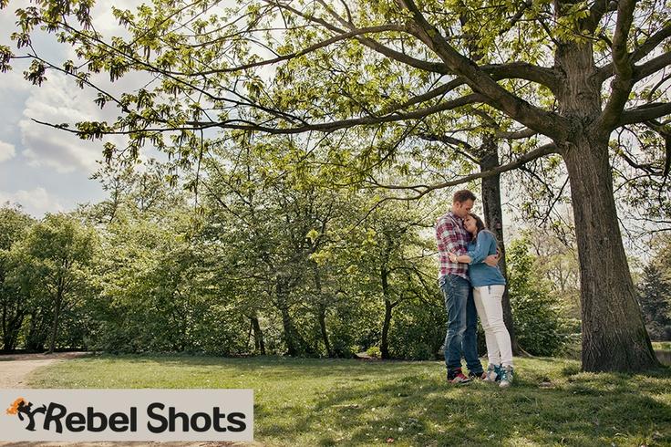 Verlovingsfotoshoot in hartje Amsterdam