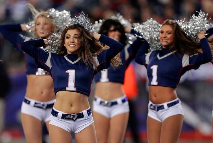 New England Patriots cheerleaders