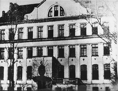 The orphanage in Warsaw Janusz Korczak http://www.HolocaustResearchProject.org