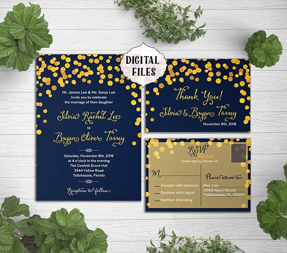 This listing is for a PRINTABLE Wedding SET - Digital Files which means you will print the set at home or at printing locations. I can make the wording any color or add a colored background. Contact me prior purchase. >>>Need this PRINTED and shipped to you? Here is the listing: