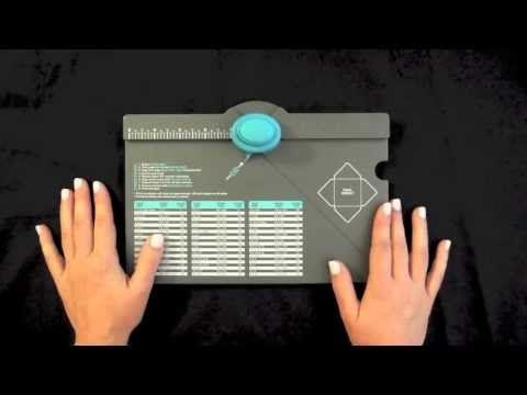 Cómo hacer subcarpetas archivadoras con el Envelope Punch Board de We R Memory Keepers - YouTube