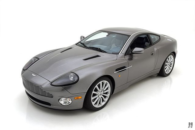 2002 Aston Martin Vanquish 6 Speed Manual A Superlative Example With Desirable Aston Works Service Six Speed M Aston Martin Vanquish Sports Car Aston Martin
