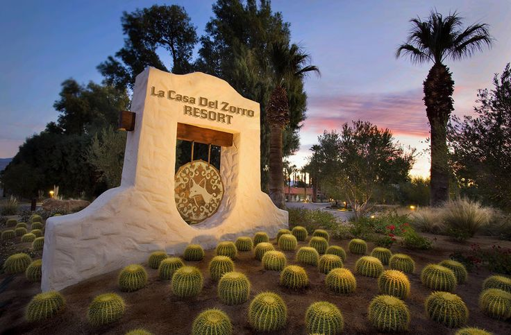 Borrego Springs Hotels   La Casa del Zorro Desert Resort   Hotels in California