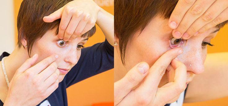 Kontaktlinsen richtig einsetzen | Lensstyle