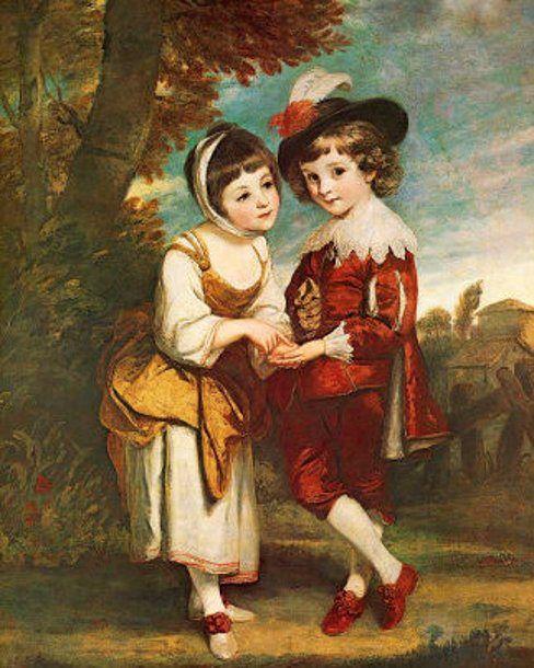 Joshua Reynolds (English artist, 1723-1797) Young Fortune Teller