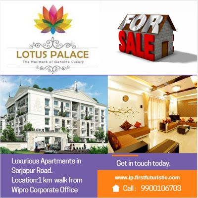 Apartments in Sarjapur road, Bangalore | Flats for Sale in Sarjapur – Lotus Palace: Apartments in sarjapur road near the Wipro corporate office are an unexceptional location, Helps you Relax.Apartments in Sarjapur road, Bangalore | Flats for Sale in Sarjapur – Lotus Palace
